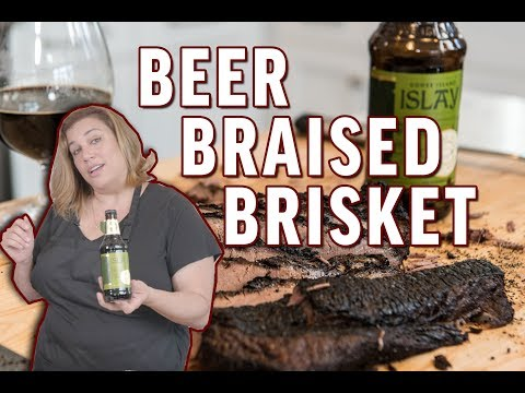 'Test Kitchen' Beer Braised Brisket - Brewed for Food Education Series