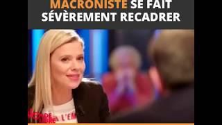 Magnifique Monique Pinçon Charlot allume un député macroniste