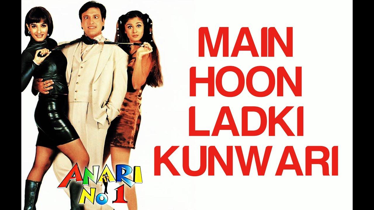 Main Hoon Ladki Kunwari - Anari No  1   Govinda & Simran   Abhijeet &  Jaspinder Narula