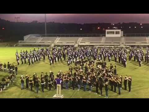 Desoto Central Middle School 8th Grade Band Night 10/10/17 DCMS