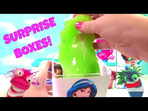 Huge Surprise Toy Blind Box : Paw Patrol, Trolls, Moana, Dory, Princess and PJ Masks