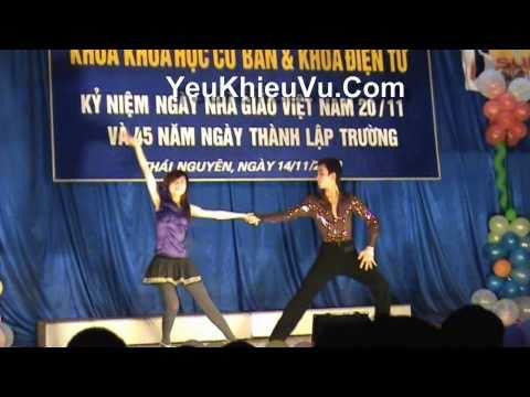 Nhung & Hung - SV K43 DVT - Chao Mung 20/11 Dai Hoc Cong Nghiep Thai Nguyen (TNUT)