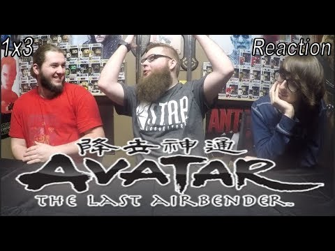 """Avatar: The Last Airbender 1x3 Reaction """"The Southern Air Temple"""""""