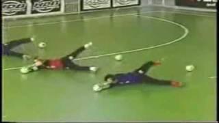 Techniques du gardien de but Futsal - Calcio a 5 (Part2)
