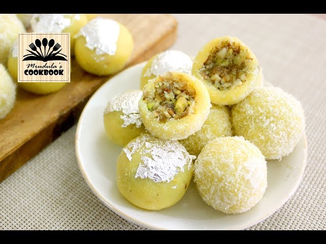 coconut gulkand ladoo || quick dessert recipe