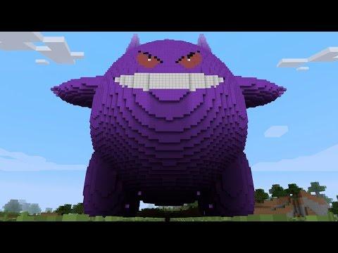 Download Youtube: Minecraft vs Pokemon go   GIGA GENGAR   (PvZ/Pokego Land)