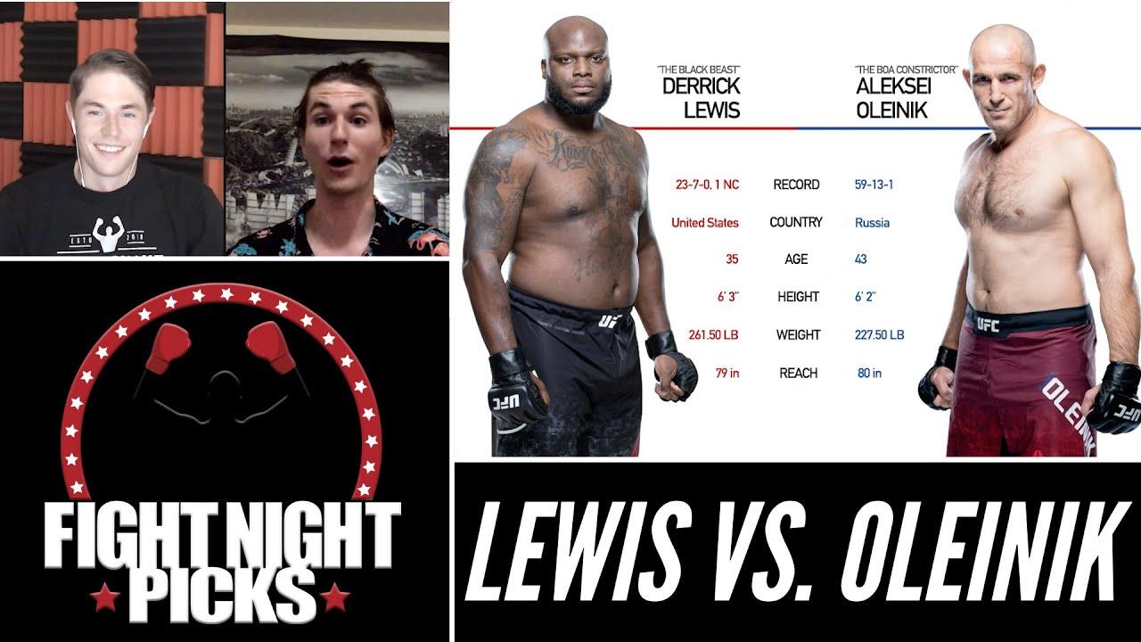 UFC Fight Night predictions -- Derrick Lewis vs. Aleksei Oleinik ...