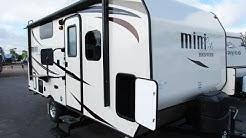 HaylettRV.com - 2016 Rockwood Mini Lite 1905 Ultralite Murphy Bed Bunkhouse Travel Trailer RV