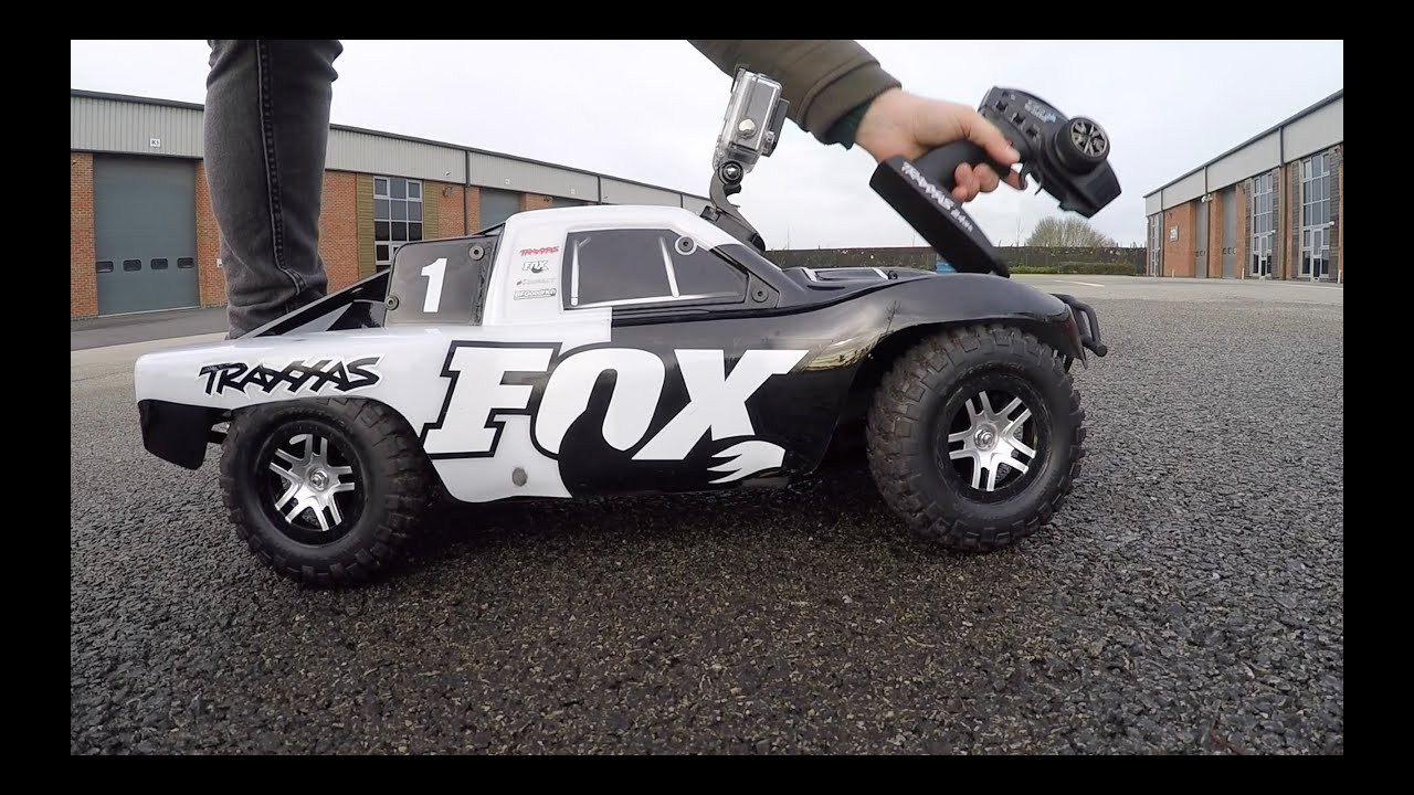 Traxxas Slash Bash TARMAC Part 2 of 3 FOX Edition OBA TSM LOW CG
