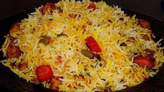 ऐसे बिरयानी बनाए की महिनों भर तक स्वाद जुबां भुला ना पाए | Veg Dum Biryani | Vegetable Dum Biryani