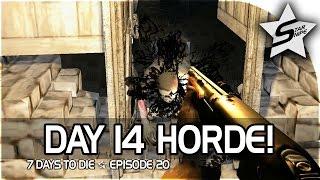 7 days to die xbox one gameplay part 20 day 14 horde strikes