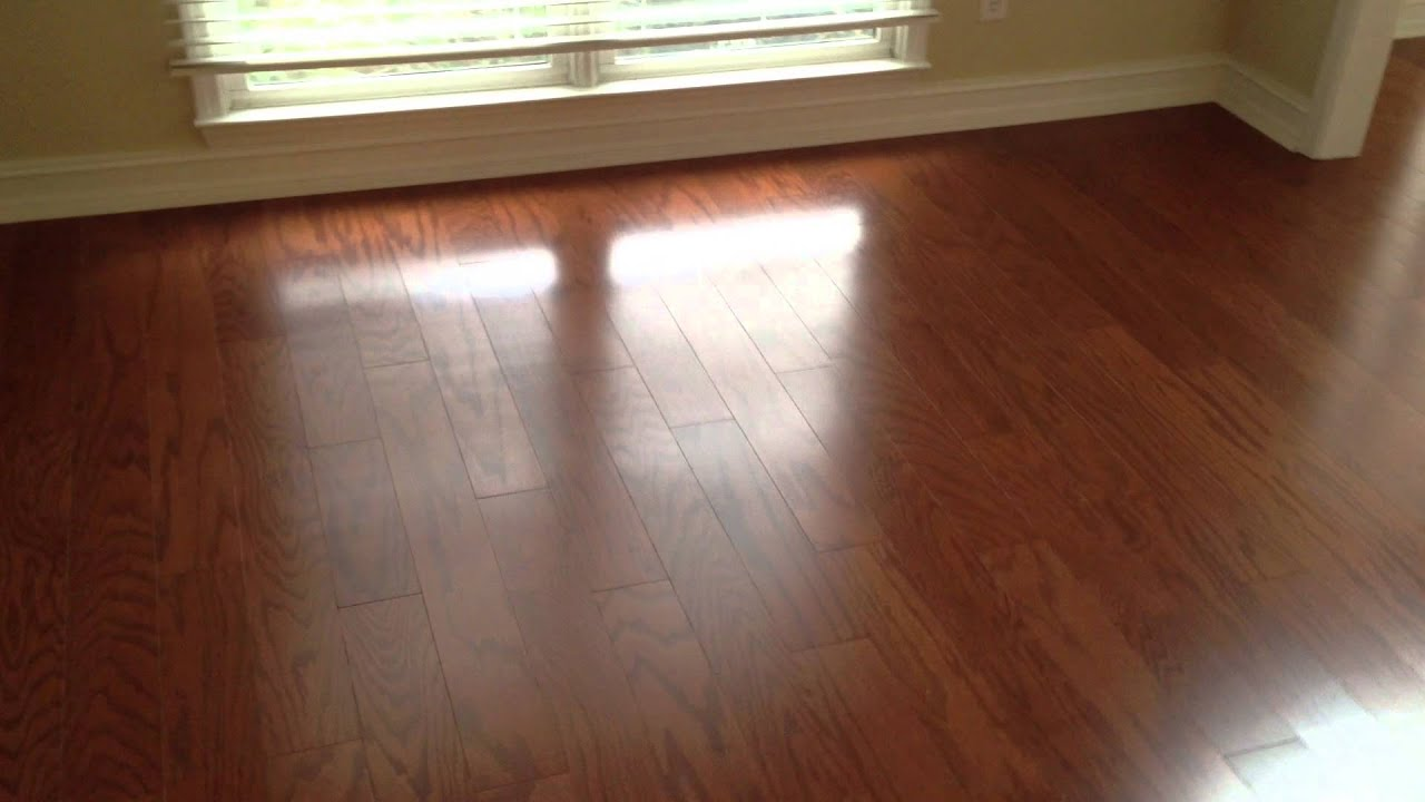 Engineered Hardwood Flooring Floating Floor Youtube