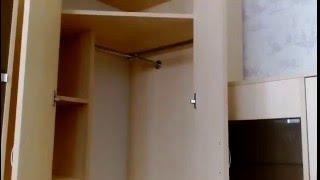 видео Угловые стенки в гостиную, производство стенок с угловым шкафом