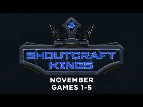 ShoutCraft Kings November