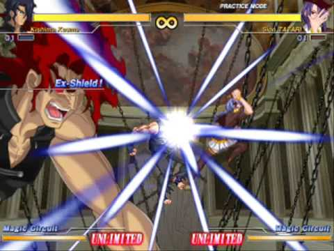 Image result for melty blood actress again kishima arc drive