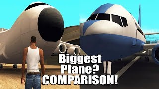 GTA San Andreas Biggest Plane
