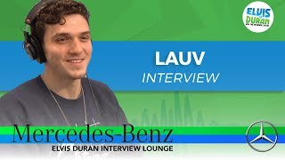 How Lauv Got Started in the Music Industry | Elvis Duran Show