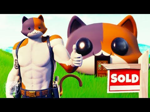 MEOWSCLES BUYS HIS FIRST HOUSE! (A Fortnite Short Film)