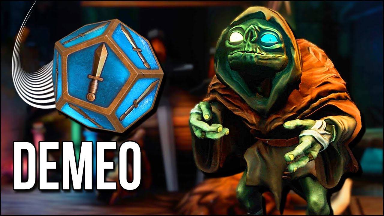Demeo | We Had An Epic Battle In A VR Tabletop Dungeon!!