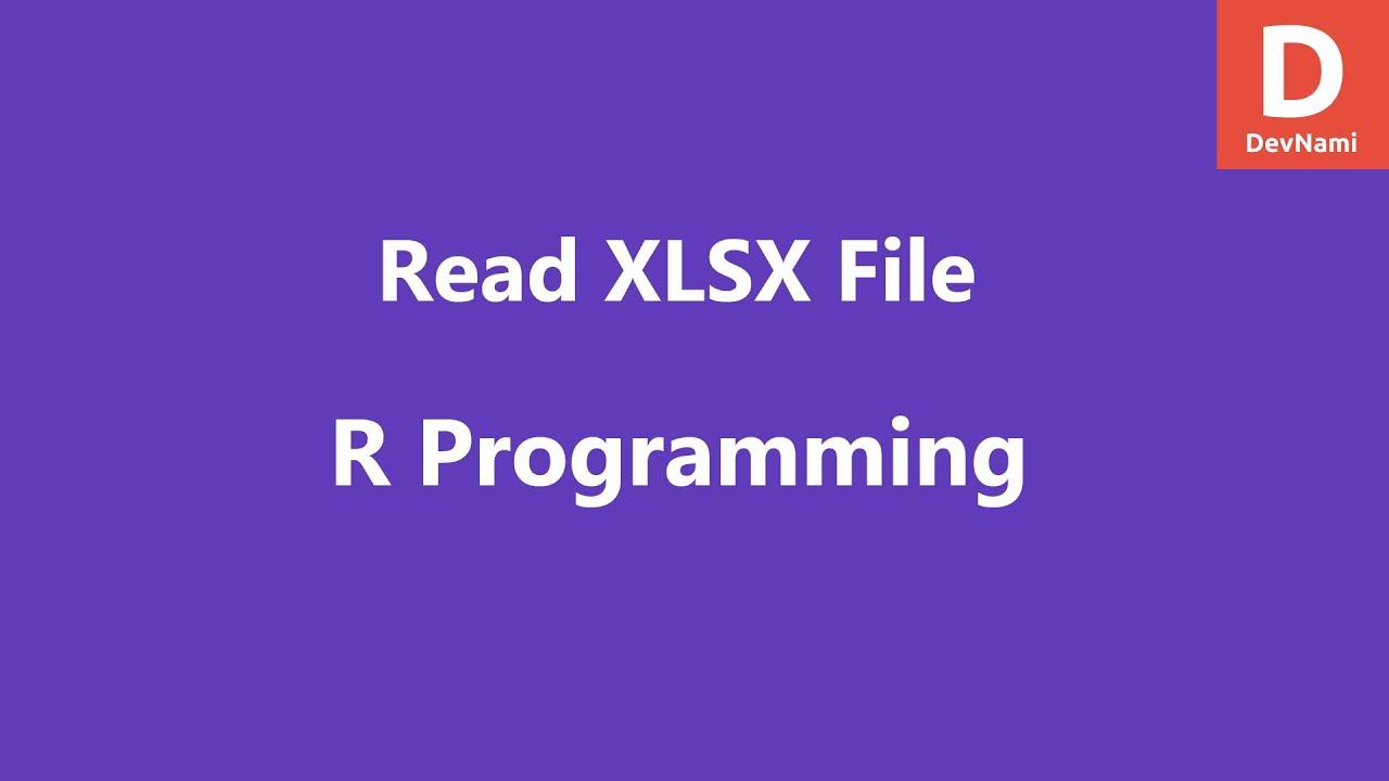 Read XLSX File in R