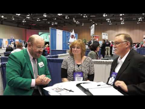 Jeff & Jenny Bryan of the Alexandria Monroe Chamber of Commerce at Select Traveler 2014