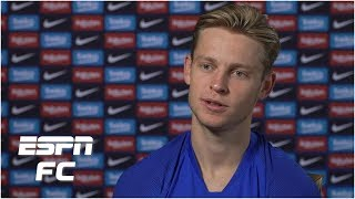 Frenkie de Jong talks Barcelona move, Matthijs de Ligt to Juventus & future of Ajax | La Liga