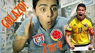 Selección Colombia VS Estados Unidos | REACCION El Hincha Fútbol