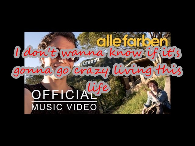 Alle Farben - LITTLE HOLLYWOOD FEAT JANIECK