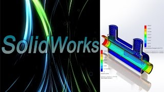 SolidWorks. Flow Simulation. Исследование резервуара / SolidWorks Flow Simulation