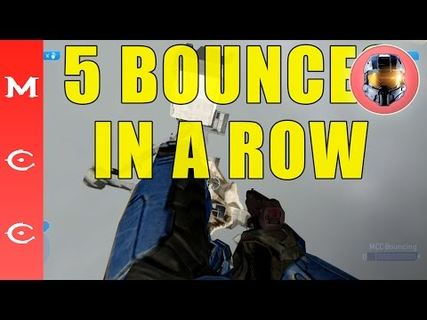 Halo: Master Chief Collection QUINTUPLE SUPER BOUNCE (5 bounces in a row!) H2 Ascension