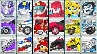 Transformers Rescue Bots: Need for Speed + Dino Robot Corps | Eftsei Gaming