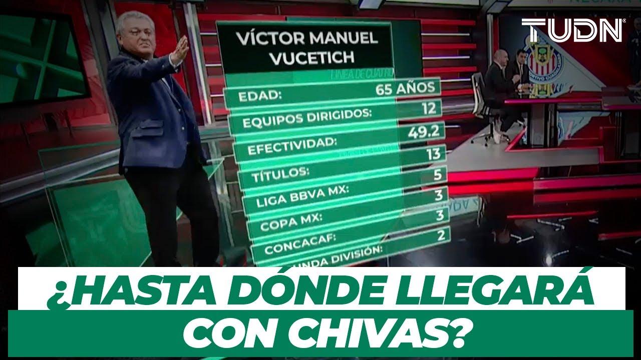 ¿Es Vucetich el técnico idóneo para Chivas? ¿Hasta dónde pueden llegar?   TUDN