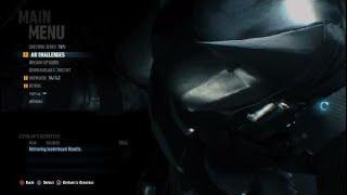 Batman Arkham Knight Free roam glitch /perspective Sebastian