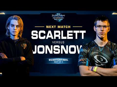 Scarlett vs JonSnow - WCS Challenger 2018 Season 1 – North A