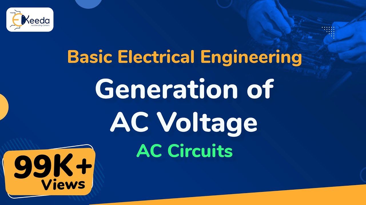 Generation Of Ac Voltage Circuits Basic Electrical Lessons In Electric Volume Ii Chapter 3 Generationofacvoltage Acvoltage Accircuits