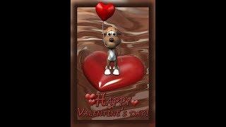 Очень прикольное поздравление с Днем влюбленных!