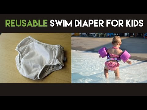 How to Use with a Reusable Swim Diaper with Kids