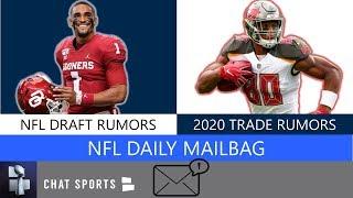 NFL Draft Rumors On Jalen Hurts, Henry Ruggs, Tua, Grant Delpit + Trade Rumors On O.J. Howard | Q&A