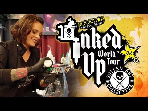 TATTOO CONVENTION COVERAGE - Rockstar Inked Up Tour Detroit 2 of 4