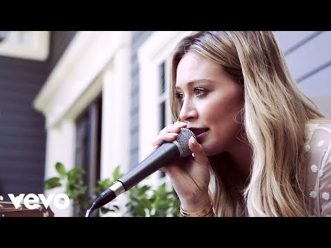 Hilary Duff - Tattoo (Acoustic)