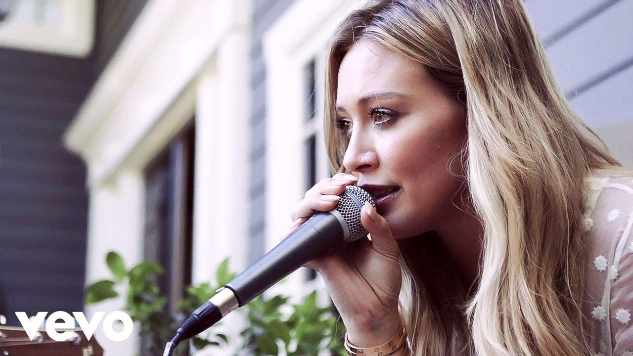 Hilary Duff - Tattoo (Acoustic) Chords - Chordify
