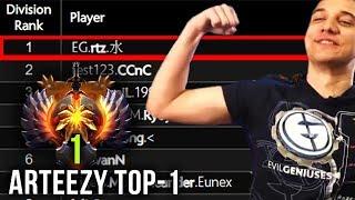 Arteezy TOP-1 MMR in the World - 2ez4rtz - EPIC Gameplay Compilation - Dota 2