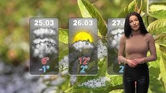 Времето – прогноза за 25 март