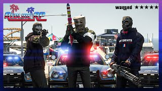 GTA 5 Roleplay - RedlineRP -  TRAPPING THE COPS IN REDLINE  # 335