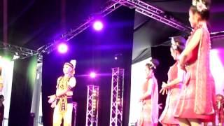 Kalasinpittayasan school au festival des folklores du monde à Bray-Dunes