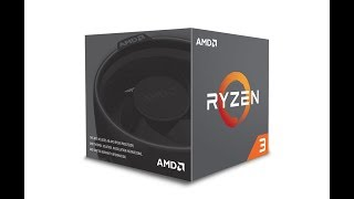 AMD Ryzen 3 1200 Desktop Processor with Wraith Stealth Cooler - UNBOXING