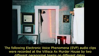 PRISM Paranormal & ORBS Omaha - Villisca Ax (Axe) Murder House Child EVP Comparisons