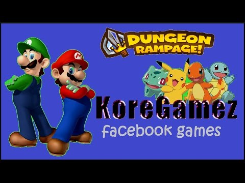 FACEBOOK GAMES - Dungeon Rampage!
