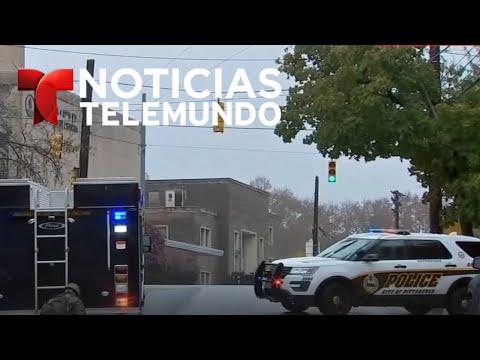 Tiroteo cerca de una sinagoga en Pittsburg | Noticias | Telemundo