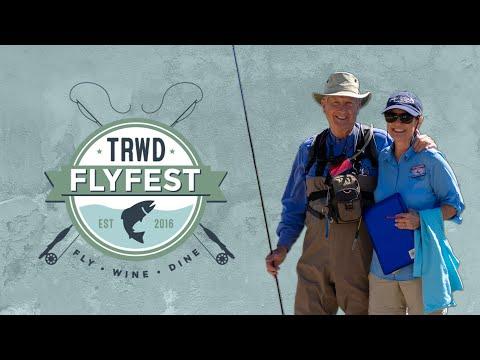Flyfishing At The TRWD Flyfest